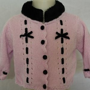 Other - Baby Girl Knitted Sweater Cardigan Size 3-6 months